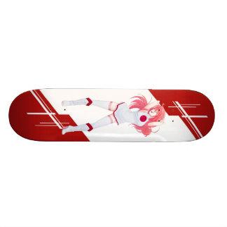 Japan Manga Anime girl dressed in Flag Japanese 21.6 Cm Skateboard Deck