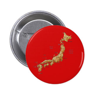 Japan Map Button