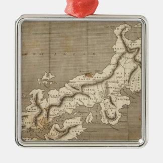 Japan Map by Arrowsmith Christmas Tree Ornaments