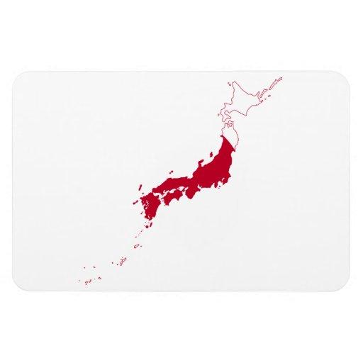 JAPAN MAP MAGNETS
