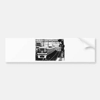 japan modern art design tokyo bumper sticker