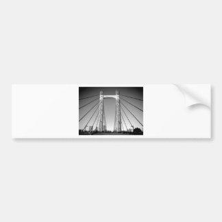 """   Japan modern fashion photo   clono art   "" Bumper Sticker"