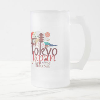 JAPAN FROSTED GLASS MUG