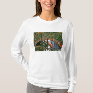 Japan, Nara Pref., Nara. The Royal Bridge glows T-Shirt