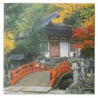 Japan, Nara, Ryuzenji Temple Tile