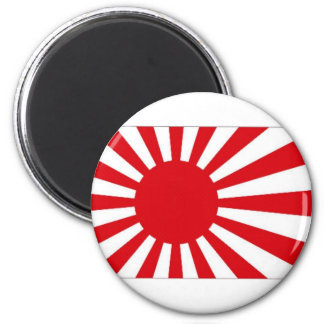 Japan Naval Ensign 6 Cm Round Magnet
