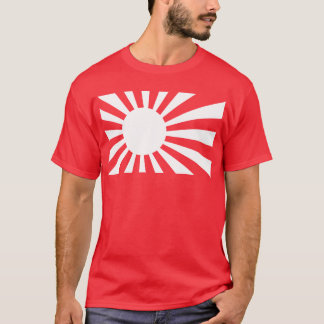 Japan Navy Flag - White T-Shirt