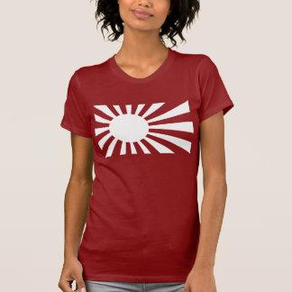 Japan Navy Flag - White T Shirt