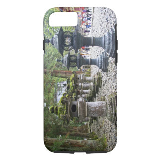 Japan, Nikko. Toshogu Shrine and mausoleum in iPhone 8/7 Case