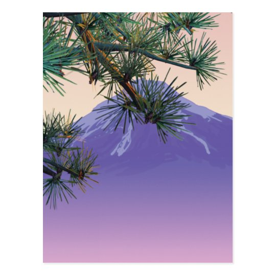 Japan Pine Mountain Postcard
