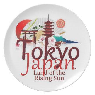 JAPAN PLATES