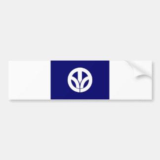 japan prefecture region flag county fukui bumper stickers