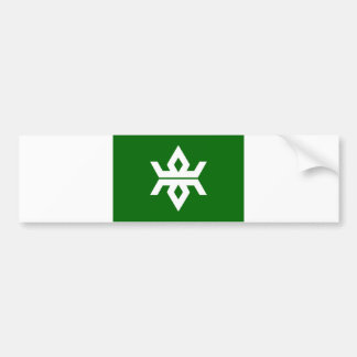 japan prefecture region flag county iwate bumper stickers