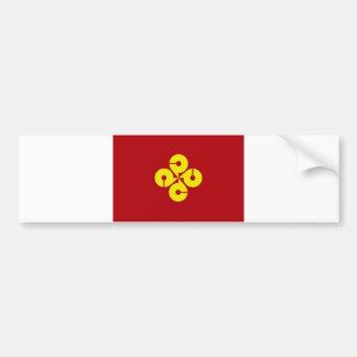 japan prefecture region flag county shimane bumper stickers