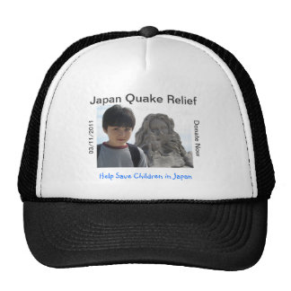 JAPAN QUAKE TSUNAMI RELIEF CAP
