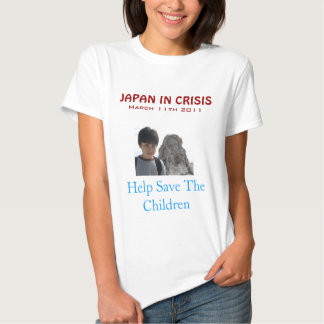 JAPAN QUAKE TSUNAMI RELIEF TSHIRT
