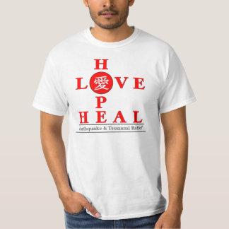 Japan Relief - Love Hope Heal T-Shirt