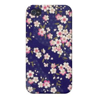 Japan, Sakura, Kimono, Origami, Chiyogami, Flower, iPhone 4 Cover