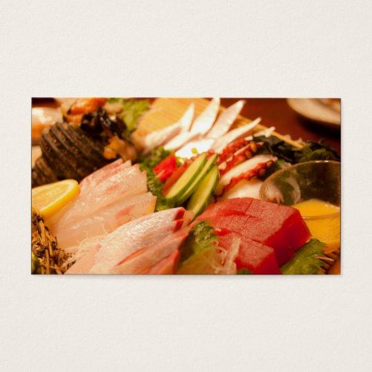 Japan Sashimi Business Card