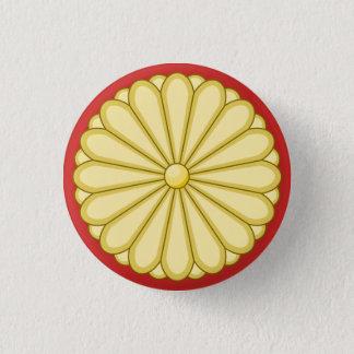 japan seal 3 cm round badge