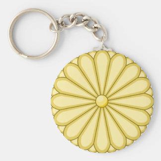 japan seal basic round button key ring