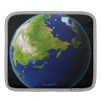 Japan Seen from Space iPad Sleeve