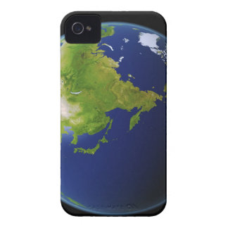 Japan Seen from Space iPhone 4 Case-Mate Case