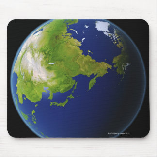 Japan Seen from Space Mouse Mat