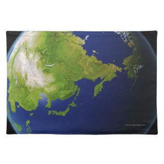 Japan Seen from Space Placemat