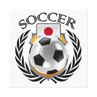 Japan Soccer 2016 Fan Gear Canvas Print