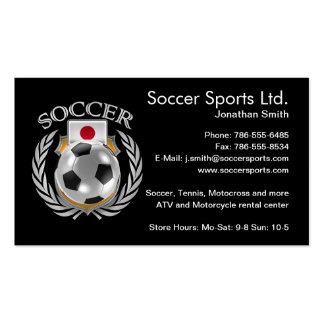 Japan Soccer 2016 Fan Gear Pack Of Standard Business Cards