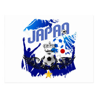 Japan   Soccer Qualifying and Brazil 2014 Postcard