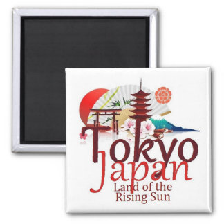 JAPAN SQUARE MAGNET