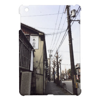 Japan Street Power lines Ipad case