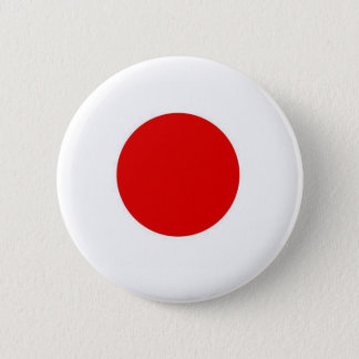 Japan Sun Flag 6 Cm Round Badge