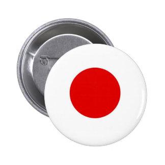 Japan Sun Flag 6 Cm Round Badge