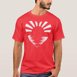 Japan Sunrise (white on red men's) T-Shirt
