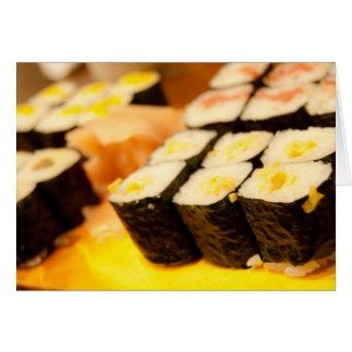 Japan Sushi Card