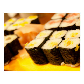 Japan Sushi Postcard