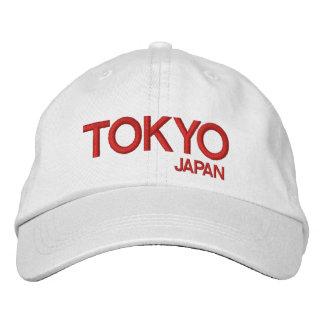 Japan - Tokyo Adjustable Hat Embroidered Baseball Cap