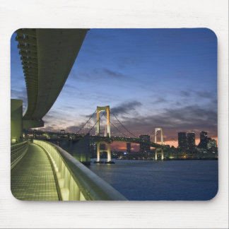 Japan. Tokyo. Rainbow Bridge in Tokyo Bay. Mouse Pad