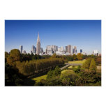 Japan. Tokyo. Shinjuku District Skyline and Poster