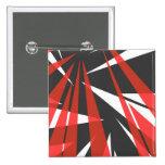 Japan tokyo sunrise 15 cm square badge