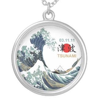 Japan Tsunami 2011 Personalized Necklace