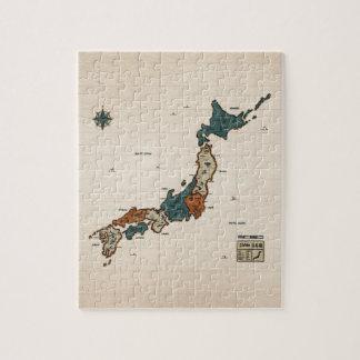 Japan - Vintage Map Puzzle