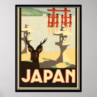Japan Vintage Travel Poster