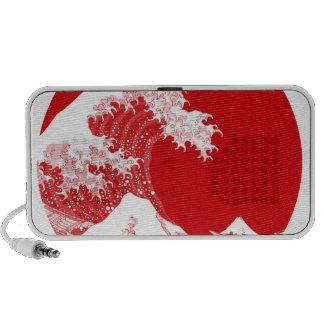 Japan Wave Notebook Speakers
