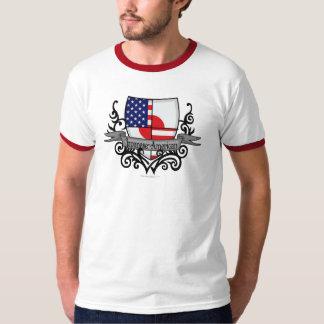 Japanese-American Shield Flag T-Shirt