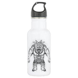 Japanese Ancient Beast Tattoo Art 532 Ml Water Bottle