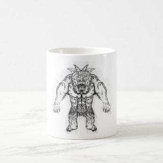 Japanese Ancient Beast Tattoo Art Coffee Mug